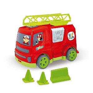 Caminhão Infantil Bombeiro Educativo Para Crianças Usual