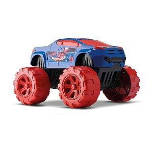 Carrinho Heroi Big Car Force Man Orange Toys