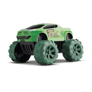 Carrinho Heroi Big Car War Man Orange Toys