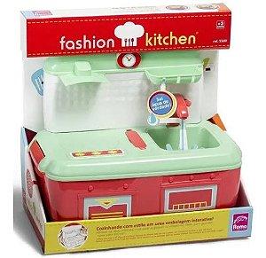 Pia Fashion Kitchen Brinquedo Casinha Sai Aguá