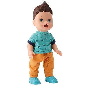 Boneco My Little Collection Mixer Boy Menino Branco