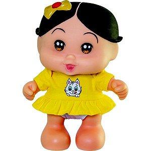 Boneca Turma Da Mônica Baby Magali Fala e Canta