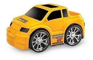 Carrinho Crypton Gt Pickup Diversas Cores Usual Brinquedos