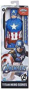 Capitão America Marvel Titan Hero Series Hasbro