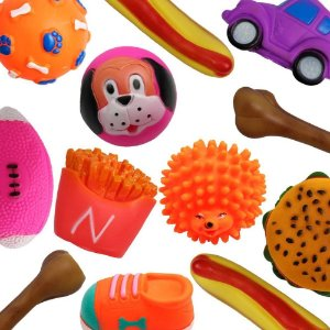 Kit 15 Mordedores Brinquedo Diversos P/ Cachorros Pequenos