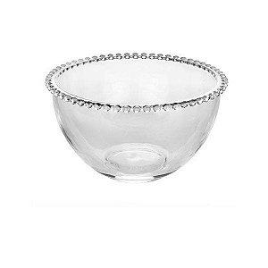 Saladeira Em Cristal 12x21cm Wolff Pearl