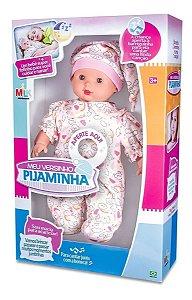 Boneca Bebezão Meu Versinho Pijaminha