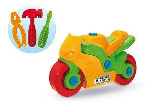 Moto De Brinquedo Infantil C/ Ferramentas Montar E Desmontar