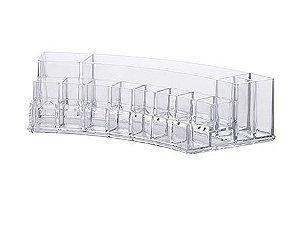 Organizador Cosméticos 28 x 11,6 x 6,5 cm Transparente