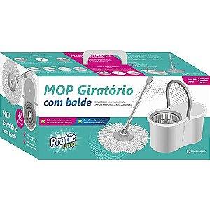 Mop Giratório Com Balde Paramount