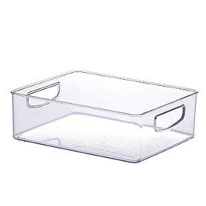Organizador Multiuso Armário 25x20x8cm Transparente 902