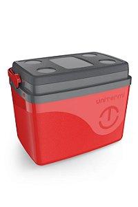 Caixa Térmica Uniterm Floripa 30L Vermelho