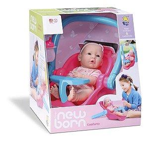 Bebê Reborn Diver New Born Bebê Conforto Divertoys - 8054