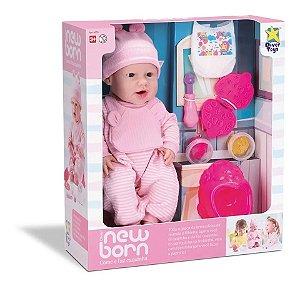 Boneca New Born Faz Come E Faz Caquinha Lançamento Divertoys