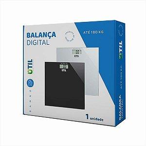 Balança Digital Corporal Elect Banheiro/quarto - Ate 180kg