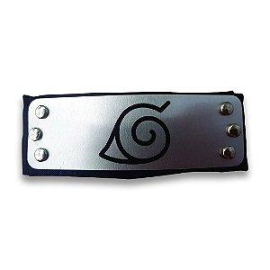 Bandana Preta Aldeia da Folha (Konoha) - Anime Naruto Shippuden