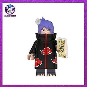 Lego Konan Akatsuki Bloco de Montar - Anime Naruto Shippuden