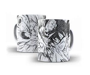 Caneca Goku e Freeza - Anime Dragon Ball