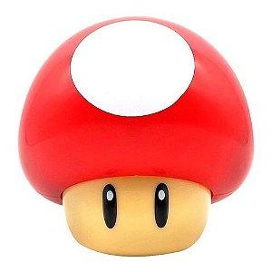 Luminária Mini Mushroom Mario Bros