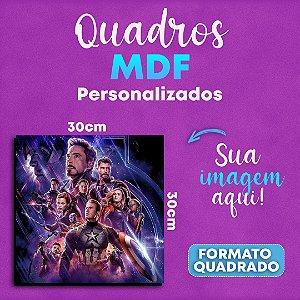 Placas Decorativas em MDF Personalizadas! 30x30cm