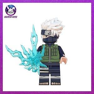 Lego Kakashi Hatake Chidori Bloco de Montar - Anime Naruto Shippuden