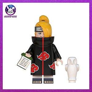 Lego Deidara Akatsuki Bloco de Montar - Anime Naruto Shippuden