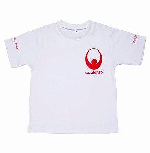 Tshirt acalanto capoeira silk vermelho