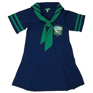 Vestido azul Escola da Lagoa