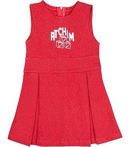 Vestido Atchim vermelho