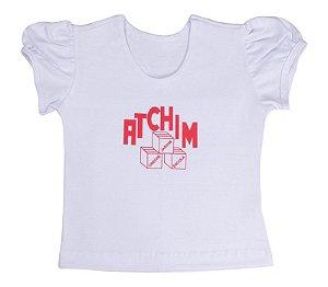 Blusa manga fofa Atchim