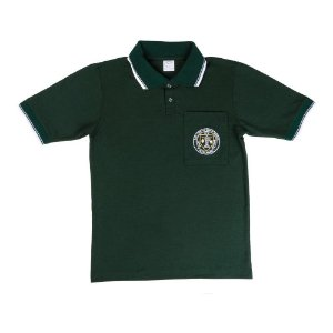 Camisa polo verde OLM/Green polo shirt OLM