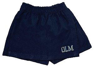 Saia short OLM/OLM tactel navy blue short skirt