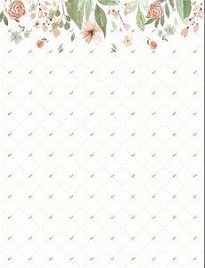 Papel de Parede T Design Floral