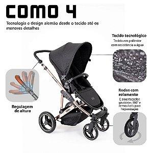 Carrinho COMO 4 ABC Design - Rose Gold