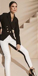 Calça black white skinny