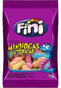 MINHOCAS CITRICA 15G FINI (CAIXA COM 12 UNIDADES)