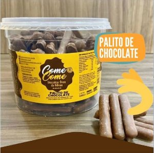 BISCOITO PALITO DE CHOCOLATE COME COME 450 GR