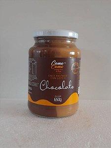 DOCE DE LEITE PASTOSO COM CHOCOLATE COME COME 650 GR