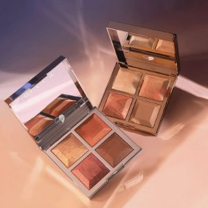 DUPLICADO - Khloé X Malika Bronze - Blush & Glow Palette  - Prateada