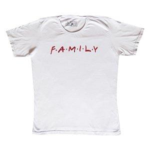 Camiseta Vamvaki Masculina Red Family