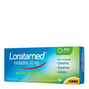 Loratamed 10mg Cimed 12 Comprimidos
