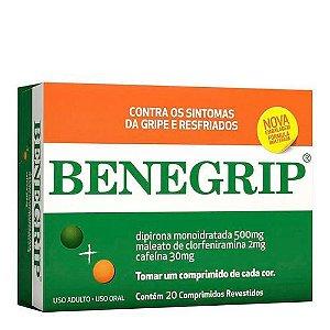 Antigripal Benegrip 20 Comprimidos