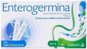 Enterogermina 5ml Com 10 Flaconetes