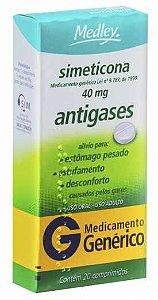 Simeticona 40mg Com 20 Comprimidos Medley