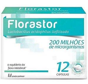 Florastor 200 Milhões 12 Cápsulas