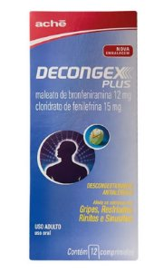Decongex Plus Aché Revestido - 12 Comprimidos