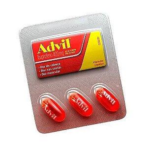 Advil 400mg com 3 Cápsulas