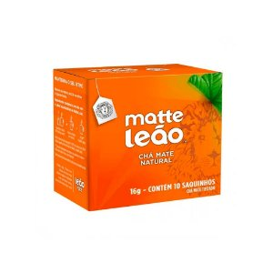 Chá Mate Tostado Original Matte Leão Caixa 16g 10 Unidades