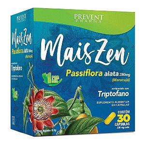 Calmante Natural Mais Zen 280mg Passiflora Alata