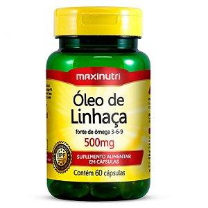 Oleo de Linhaça Maxinutri
